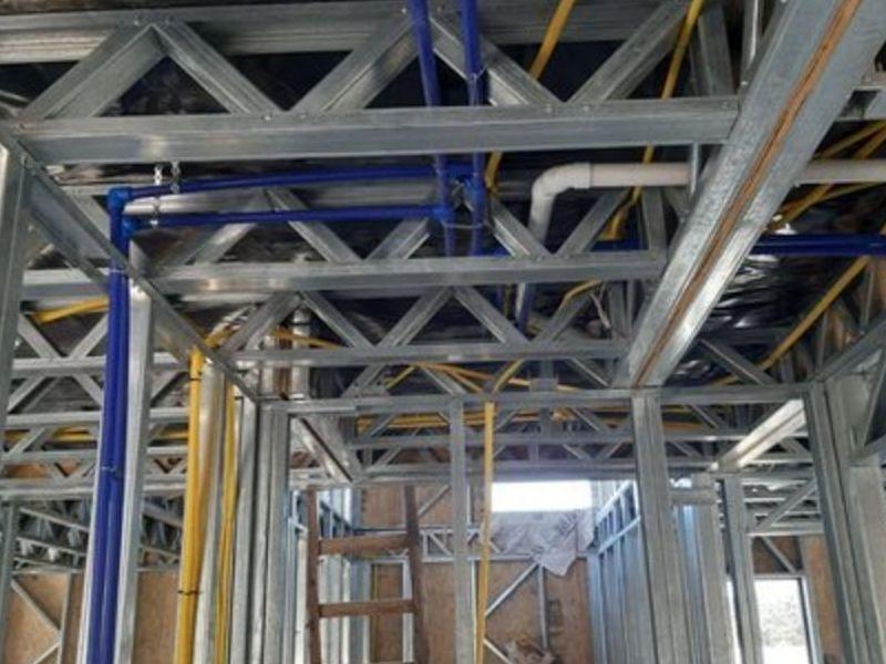 Paneles de Steel Framing e instalaciones elec - TERMOSTEEL | CONSTRUEX