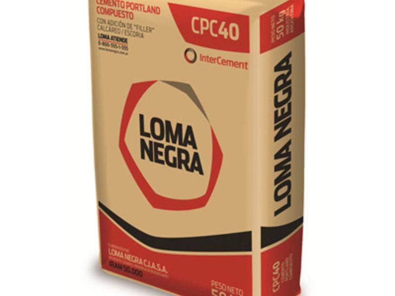 Cemento Loma Negra CPC40