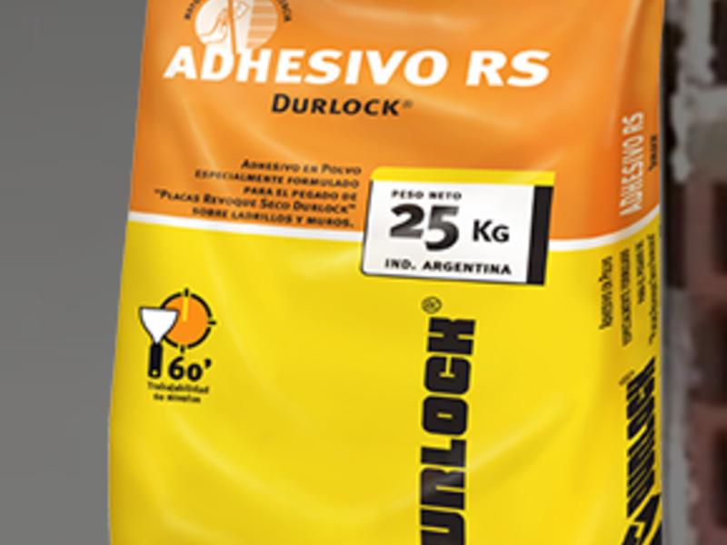 Adhesivo RS 60´ - DURLOCK  | CONSTRUEX